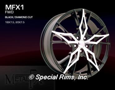 Metal fx rims wheels