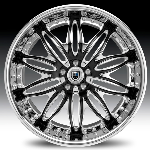 chrome rims, custom rims AF151