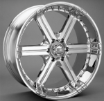 chrome rims, custom rims Bounce Type 292