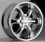 chrome rims, custom rims OJ TYPE 437