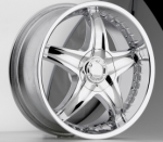 chrome rims, custom rims PHIZ TYPE 360