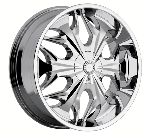 chrome rims, custom rims Reaper Type 508