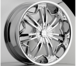 chrome rims, custom rims Slither Type 719