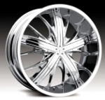 chrome rims, custom rims Flexx Type 570