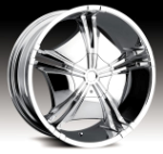 chrome rims, custom rims Vnitian Type 550