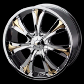 chrome rims, custom rims Mirage 1120