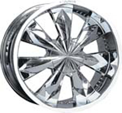 chrome rims, custom rims CA-115