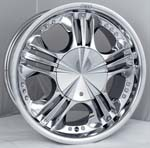 chrome rims, custom rims 564
