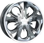 chrome rims, custom rims 610
