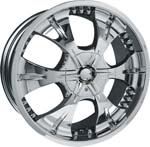chrome rims, custom rims 719
