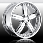chrome rims, custom rims Javv