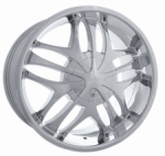chrome rims, custom rims 421