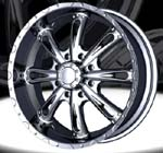 chrome rims, custom rims 58