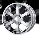 chrome rims, custom rims 803
