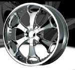 chrome rims, custom rims 809
