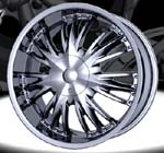 chrome rims, custom rims 95