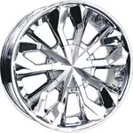 chrome rims, custom rims Messina 770