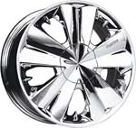 chrome rims, custom rims Palermo 781