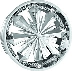 chrome rims, custom rims Taranto 372