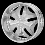 chrome rims, custom rims CeleBrity 733