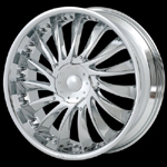 chrome rims, custom rims Entourage 656