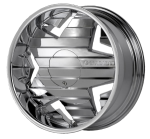 chrome rims, custom rims Krysp 834-835