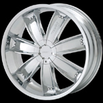 chrome rims, custom rims Mania 433