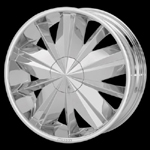 chrome rims, custom rims Privilege 731