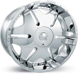 chrome rims, custom rims PL-902