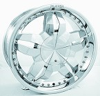 chrome rims, custom rims 504