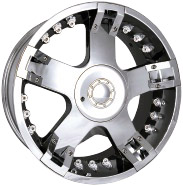 chrome rims, custom rims 712