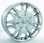 chrome rims, custom rims 713