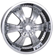 chrome rims, custom rims 962