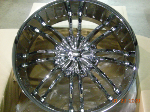 chrome rims, custom rims 810