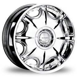 "This is the awesome ""DIVINITY DV-14"" rim, it has a CHROME finish, a remarkable rim, has a good elegant look to it, and a very smooth ride to it, Has a mid lip for those looking for a lil lip but not too much ""JUST ENOUGH"". Very dependable rim, does not rust or mold at all like all those other flimsy rims. One of the best wheels you can have under your vehicle, to make it look beautiful and also have that elegant look."