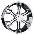 Dakar Mayhem 6 dual spokes with a deep lip. This is a wonderful wheel to have on your car or truck.