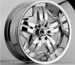 This is a wonderful wheel. When you wake up in the morning you will love to see this wheel on your vehicle. This wheel has a deep lip with full face with 5 dual spokes and exposed lugs this wheel will chop the streets hard.