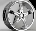 The Devino Flawless 762 is a wonderful wheel to have. When you wake up in the morning you will love to see this wheel on your vehicle. This wheel has a mid lip 5 spokes and exposed lugs this wheel will chop the streets hard.