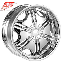 "This is the cutting edge ""F5 85"" rim, it has a CHROME finish, a remarkable rim, has a good elegant look to it, and a very smooth ride to it, Has mid lip for those looking for a rim with a lil lip, and enough rim ""JUST ENOUGH"". Very dependable rim, does not rust or mold at all like all those other flimsy rims. One of the best wheels you can have under your vehicle, to make it look beautiful and also has the confident look to it."
