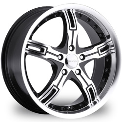 "This is the one-of-a-kind ""GITANGO GT-6"" rim, it has a BLACK/W CHROME finish, a very outstanding rim, has a good unique look to it, and a very smooth ride to it, Has mid lip for those looking for a rim with lil lip but enough rim on it ""JUST ENOUGH"". Very dependable rim, does not rust or mold at all like all those other flimsy rims. One of the best wheels you can have under your vehicle, to make it look beautiful and also has the cutting edge look to it"
