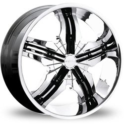 "This is the vibrant ""PINNANCLE VENICE"" rim, it has a CHROME/W BLACK finish , a very outstanding rim, has a good smooth look to it, and a very righteous ride to it, Has mid lip for those looking for a rim with a lil lip but more RIM. Very dependable rim, does not rust or mold at all like all those other flimsy rims. One of the best wheels you can have under your vehicle, to make it look beautiful and also has that powerful look to it."