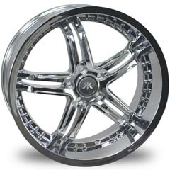 "This is the cutting edge ""RENNEN RS5"" rim, it has a CHROME finish , a very outstanding rim, has a good smooth look to it, and a very righteous ride to it, Has no lip for those looking for a rim with no lip but more RIM.Very dependable rim, does not rust or mold at all like all those other flimsy rims. One of the best wheels you can have under your vehicle, to make it look beautiful and also has the powerful look to it."