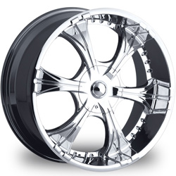 "This is the a mind blowing ""VCT CARPONE"" rim, it has a CHROME finish , a very outstanding rim, has a good smooth look to it, and a very righteous ride to it, Has mid lip for those looking for a rim with a lil lip but enough lip and enough rim. Very dependable rim, does not rust or mold at all like all those other flimsy rims. One of the best wheels you can have under your vehicle, to make it look beautiful and also has the CONFIDENT look to it."