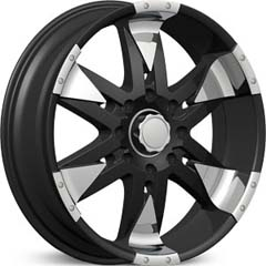"This is the  genuine ""VELOCITY 840"" rim, it has a BLACK/W CHROME finish , a very outstanding rim, has a good smooth look to it, and a very righteous ride to it, Has mid lip for those looking for a rim with a lil lip but enough lip and enough rim. Very dependable rim, does not rust or mold at all like all those other flimsy rims. One of the best wheels you can have under your vehicle, to make it look beautiful and also has the one of a kind look to it."