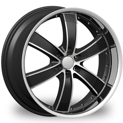 "This is the  genuine ""VELOCITY 855"" rim, it has a BLACK/W CHROME finish , a very outstanding rim, has a good smooth look to it, and a very righteous ride to it, Has mid lip for those looking for a rim with a lil lip but enough lip and enough rim. Very dependable rim, does not rust or mold at all like all those other flimsy rims. One of the best wheels you can have under your vehicle, to make it look beautiful and also has the one of a kind look to it."
