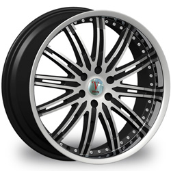 "This is the  CUTTING EDGE ""VELOCITY 865"" rim, it has a BLACK/W CHROME finish , a very outstanding rim, has a good smooth look to it, and a very righteous ride to it, Has mid lip for those looking for a rim with a lil lip but enough lip and enough rim. Very dependable rim, does not rust or mold at all like all those other flimsy rims. One of the best wheels you can have under your vehicle, to make it look beautiful and also has the one of a kind look to it."